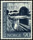 Bilde av 548 90 ø.blålig Edvard Munch