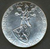 Bilde av 100 kroner 1982 - Kval 0. Foto ex.