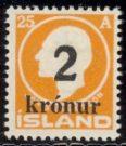 Bilde av Island afa nr 120 hengslet (1000