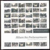 Bilde av Hilsen fra Frelsesarmen. En flott bok på 298 sider. Illustrert med postkort fra innland og utland.