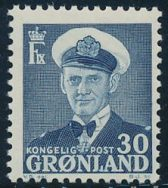 Grønland AFA 36 - 30 øre Fr. IX prima postfrisk (260)