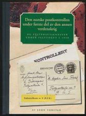 Den Norske postkontrollen under første del av den annen verdenskrig