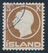 Island AFA 75 st. Pent stemplet. (1600)
