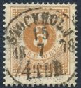 Bilde av Sverige LUX STOCKHOLM 15-7-1878 Vakkert