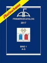 AFA Vest-Europa 2017 Bind 1 A-G  - NYHET