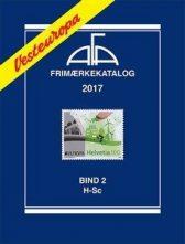 AFA Vest-Europa 2017 Bind 2 H-Sc  - NYHET