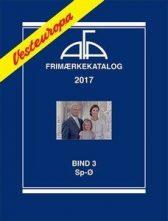AFA Vest-Europa 2017 Bind 3 Sp-Ø - NYHET