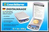 Lechtturm digitalvekt for bla. gullmynter. Fra 0