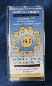 Importa myntlommer - 50 stk. - 25 mm - LØSE