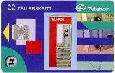 N-100 Telefonkiosk  -123 - 22ts