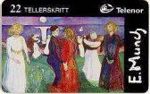N-134 Edvard Munch livets dans -  22ts
