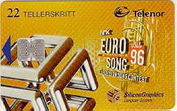 N-72 Eurosong 1996 -  22ts