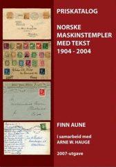Norske maskinstempler 1904 - 2004. Med priser!