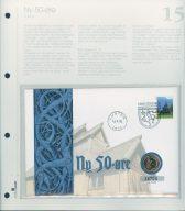 Bilde av SH myntbrev nr. 15 Ny 50-øre 1996