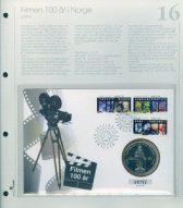 Bilde av SH myntbrev nr. 16 Filmen 100 år 1996