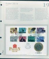 Bilde av SH myntbrev nr. 19 Posten 350 år 1997