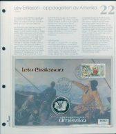 Bilde av SH myntbrev nr. 22 Leiv Eriksson 1997