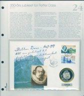 Bilde av SH myntbrev nr. 24 Petter Dass 350-årsjubileum 1997