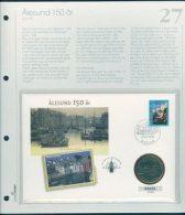 Bilde av SH myntbrev nr. 27 Ålesund 150 år 1998