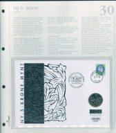Bilde av SH myntbrev nr. 30 Ny 5-krone 1998