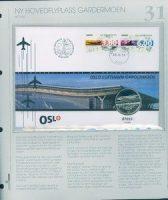 Bilde av SH myntbrev nr. 31 Ny hovedflyplass – Gardermoen 1998