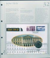 Bilde av SH myntbrev nr. 32 Det Kongelige Slott 150 år 1998