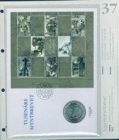 Bilde av SH myntbrev nr. 37 Tusenårsmyntbrevet 1999