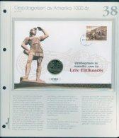 Bilde av SH myntbrev nr. 38 Oppdagelsen av Amerika 1000 år 1999