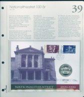 Bilde av SH myntbrev nr. 39 Ny National teateret 100 år 1999