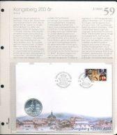 Bilde av SH myntbrev nr. 59 - Kongsberg 200 år