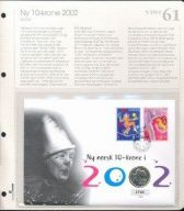 Bilde av SH myntbrev nr. 61 -  Ny 10 krone 2002